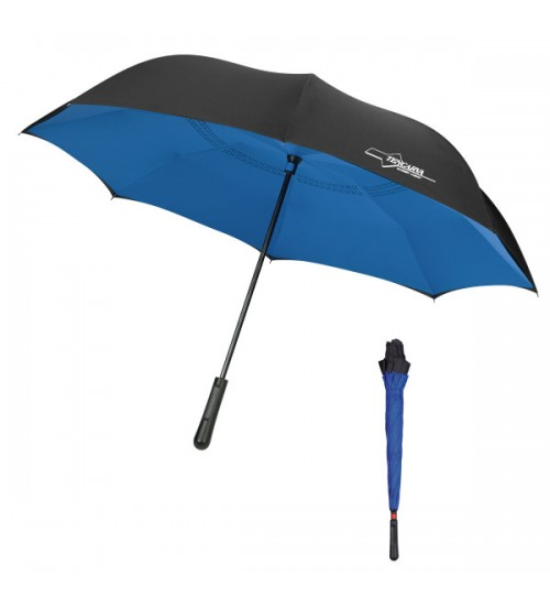 "48"" 2 Tone Inversion Umbrella"